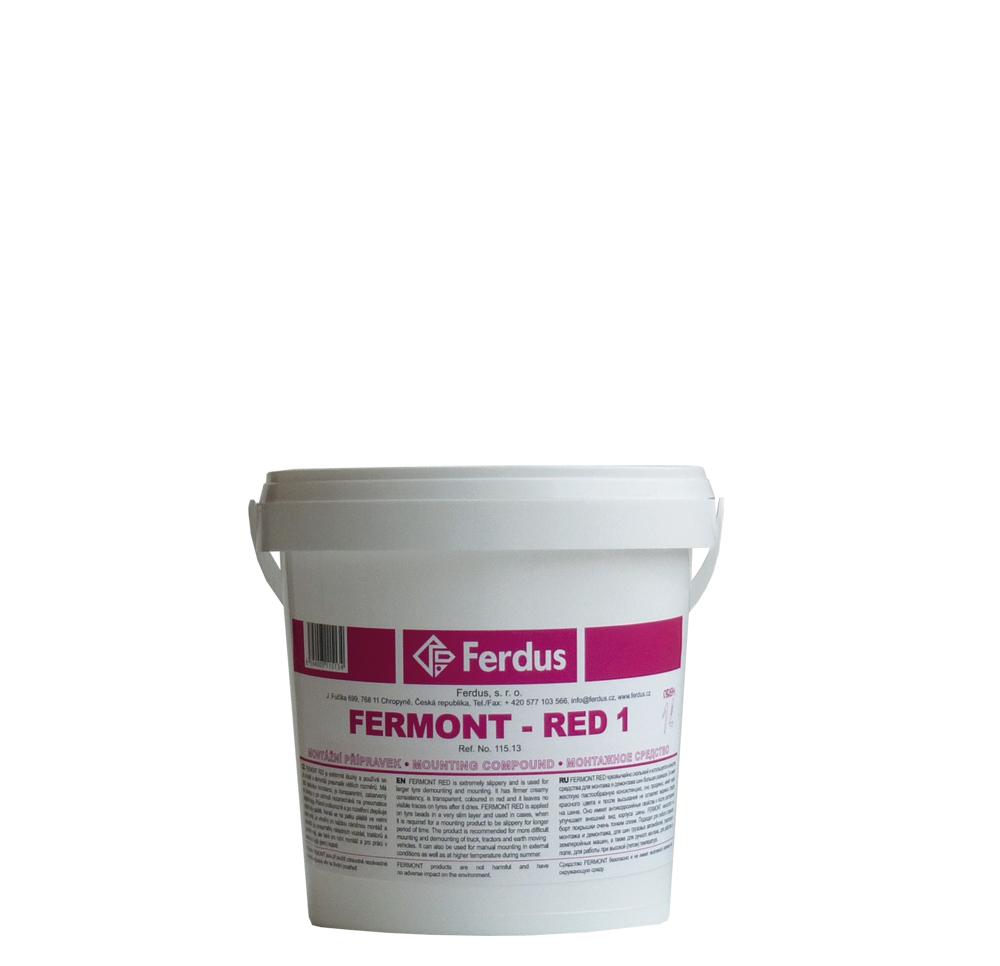 Montážní přípravek FERMONT RED 1, 1000 ml - Ferdus 115.13