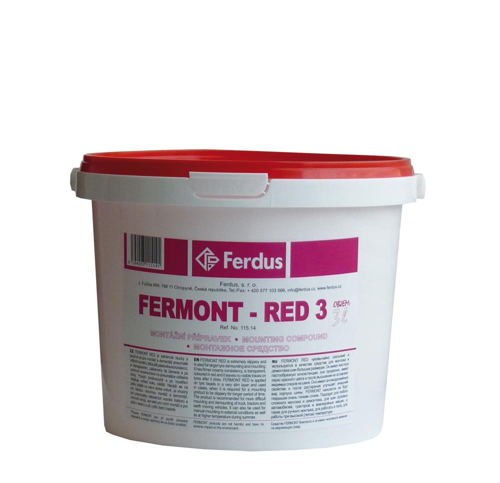 Montážní přípravek FERMONT RED 3, 3000 ml - Ferdus 115.14