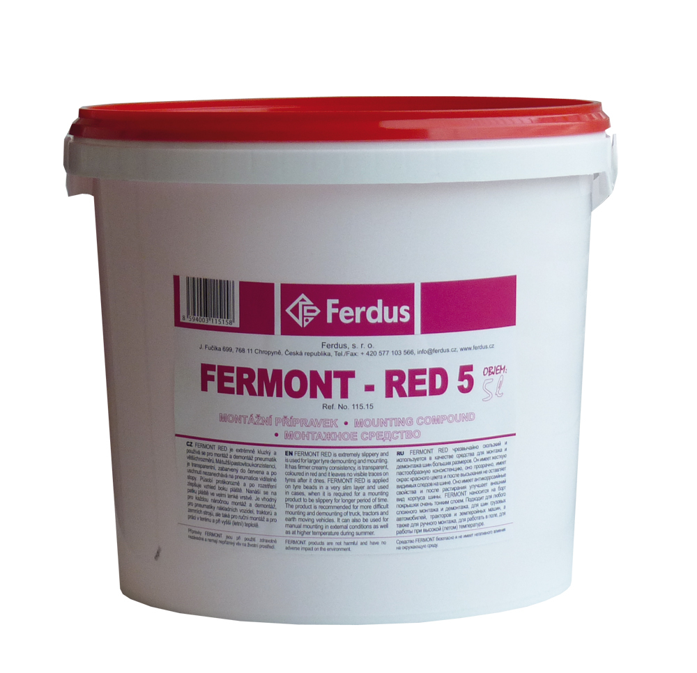 Montážní přípravek FERMONT RED 5, 5000 ml - Ferdus 115.15
