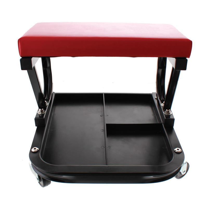 Montážní sedátko s odkládacím prostorem