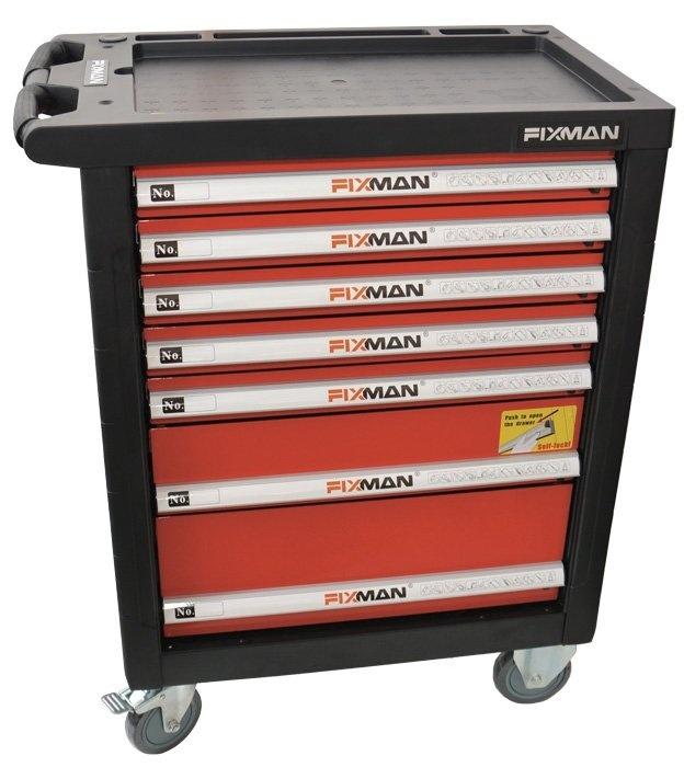 Montážní vozík s ručním nářadím FIXMAN F1 Mechanic Profi CZ