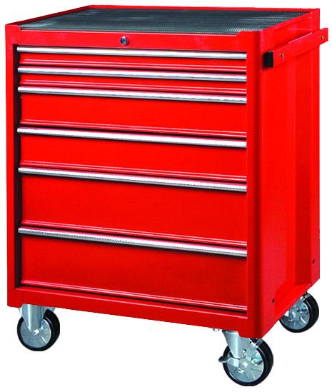 Víceúčelový 6 zásuvkový montážní vozík TBR 3006-X
