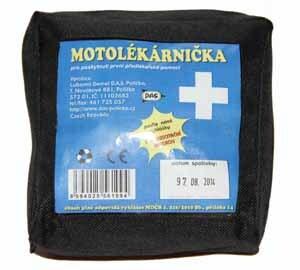 Motolékárnička dle vyhlášky č. 216/2010 - kortexinový obal