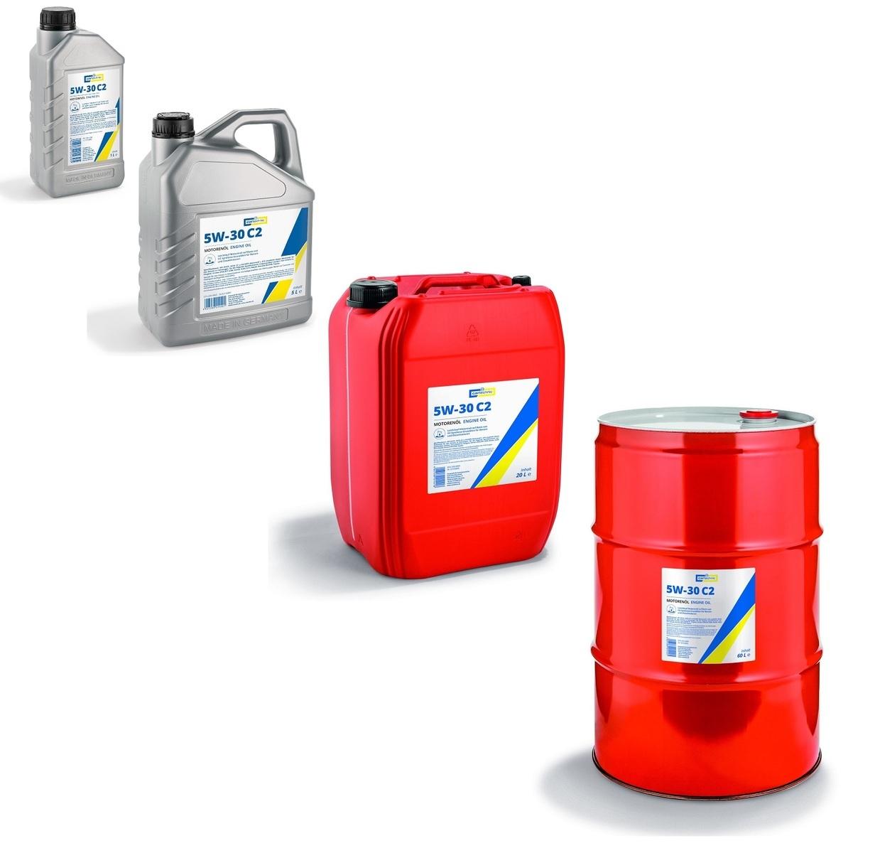 Motorový olej 5W-30 C2, pro koncern PSA, různé objemy - Cartechnic