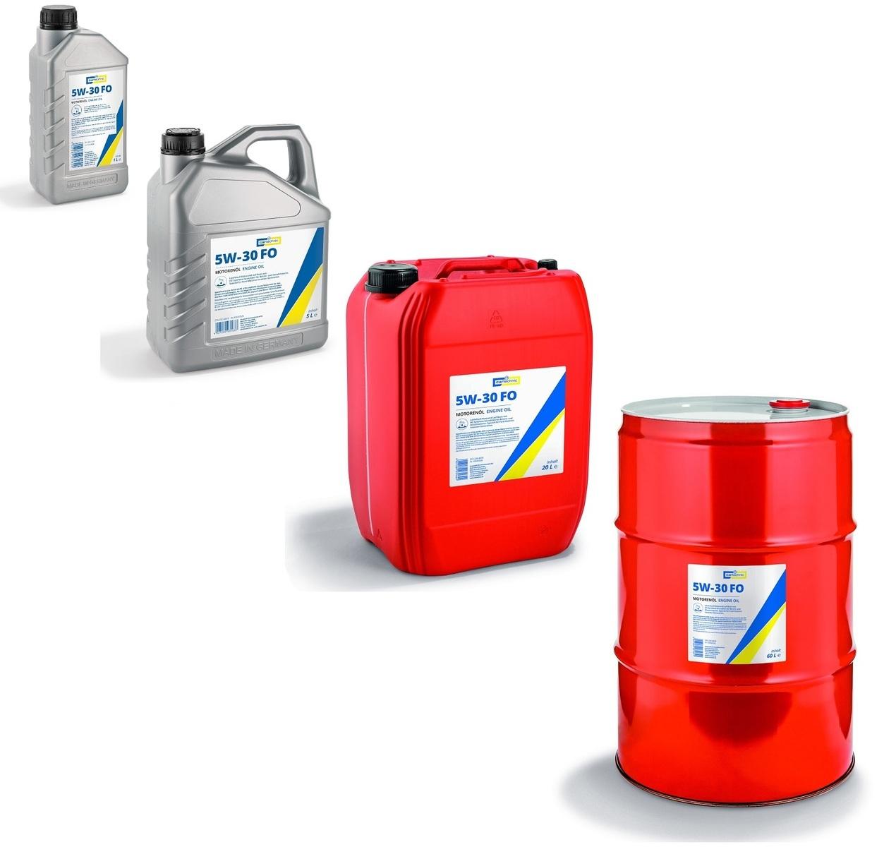 Motorový olej 5W-30 FO, pro Ford, různé objemy - Cartechnic