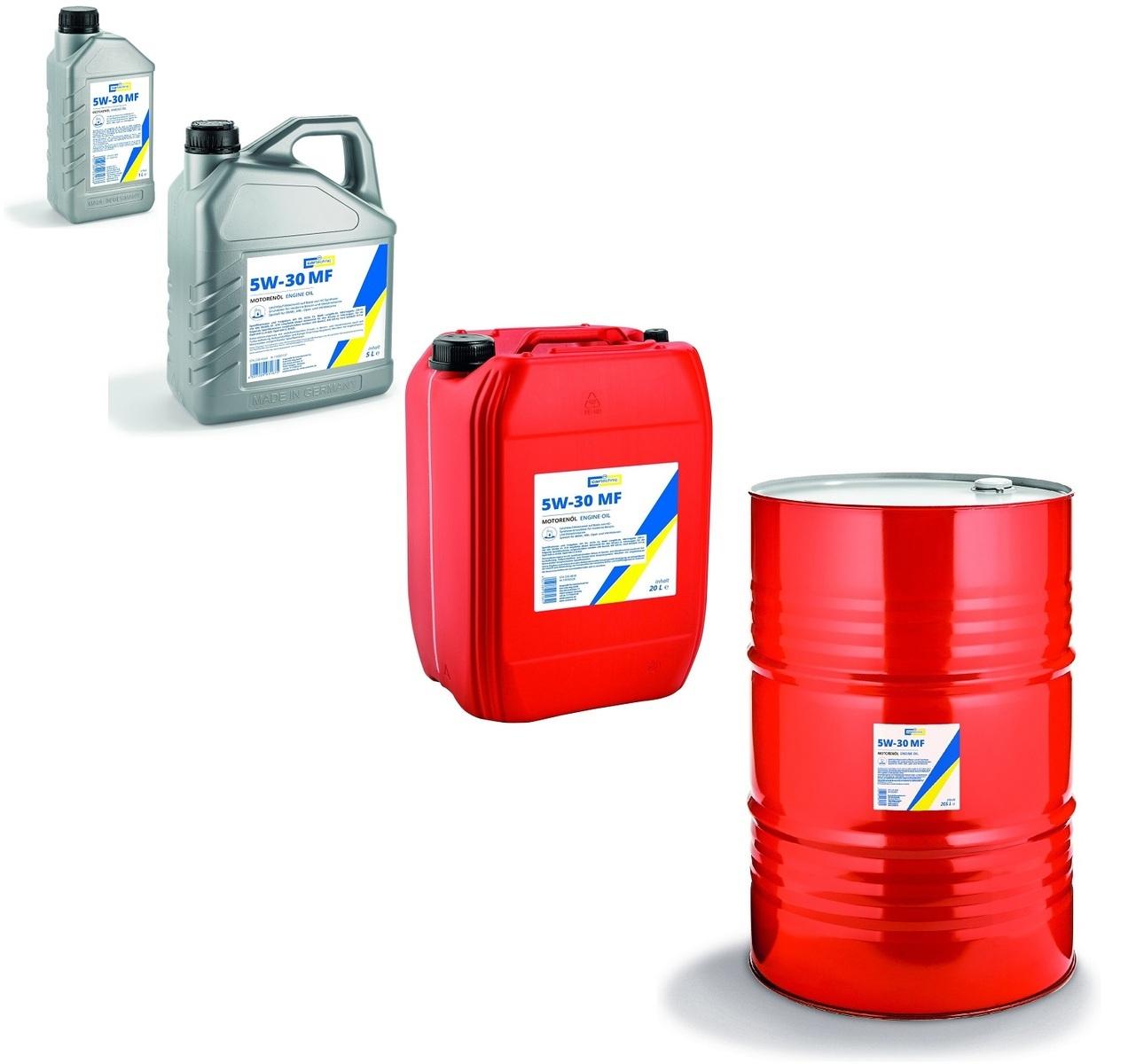 Motorový olej 5W-30 MF, různé objemy - Cartechnic