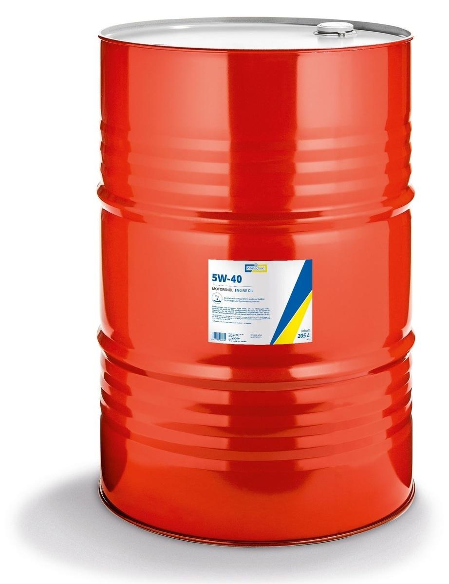 Motorový olej 5W-40, 205 litrů - Cartechnic