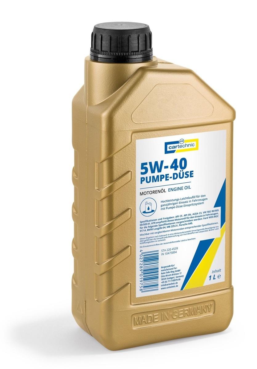Motorový olej 5W-40 Pumpe-Düse, 1 litr -  Cartechnic