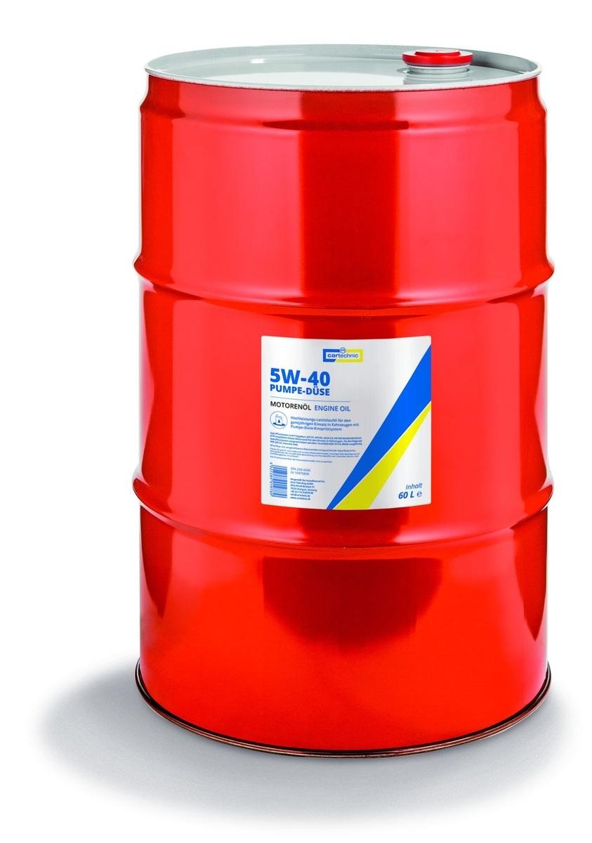 Motorový olej 5W-40 Pumpe-Düse, 60 litrů -  Cartechnic