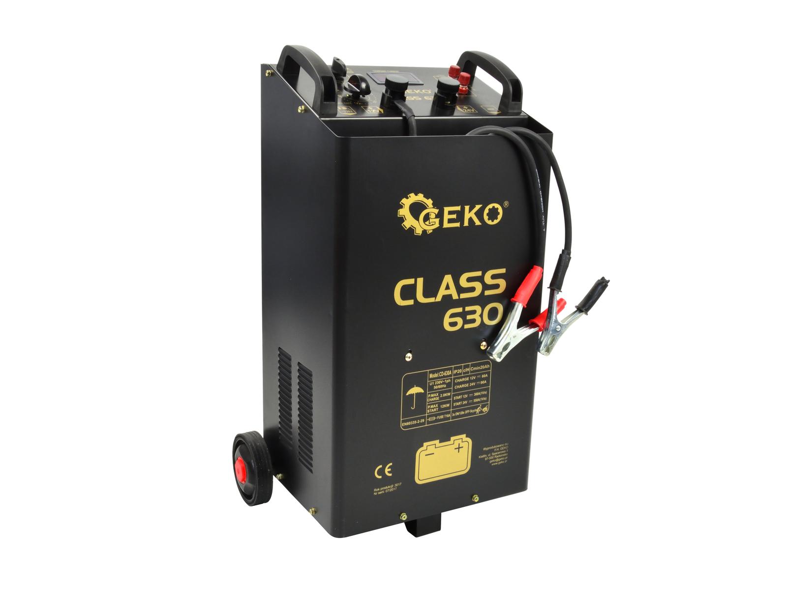 GEKO G80026 Nabíjecí a startovací zdroj CLASS 630