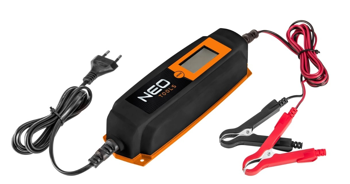Nabíječka 6/12V, 2/4A - NEO tools 11-990