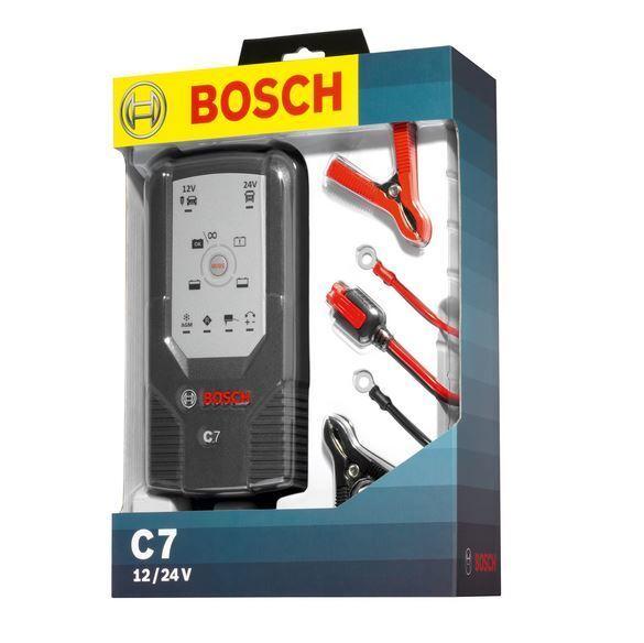 Nabíječka baterií Bosch C7 12/24V 7A - 018999907M