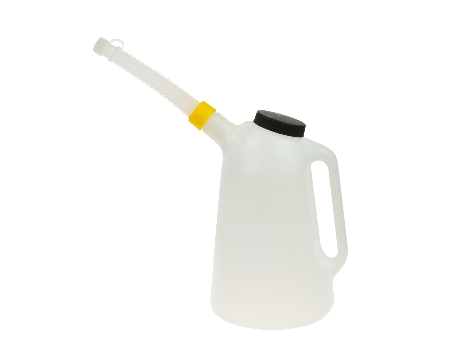 Nádoba na olej 3 l, konev s hubicí