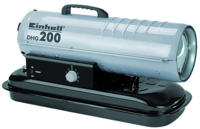 Naftové topidlo DHG 200, 20 kW, přenosné - Einhell Heating
