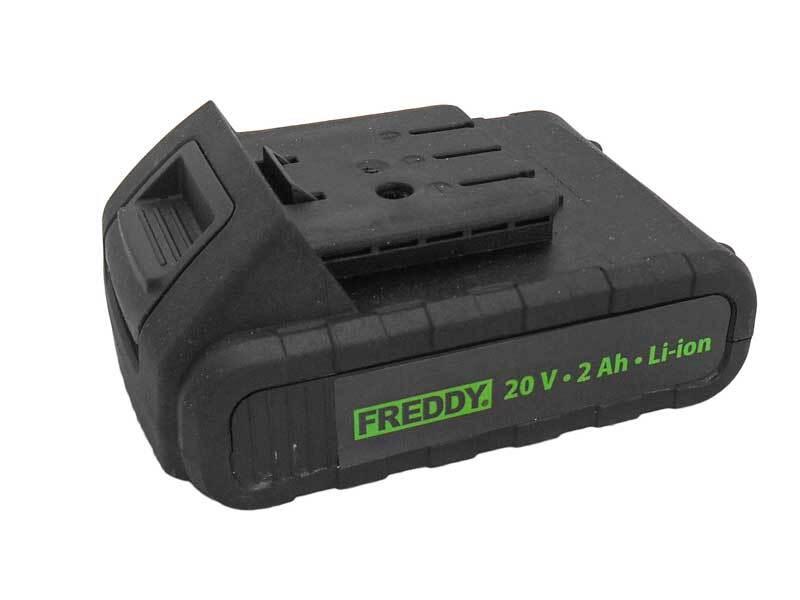 Náhradní baterie 20V 2,0Ah, k aku šroubováku FREDDY FR004