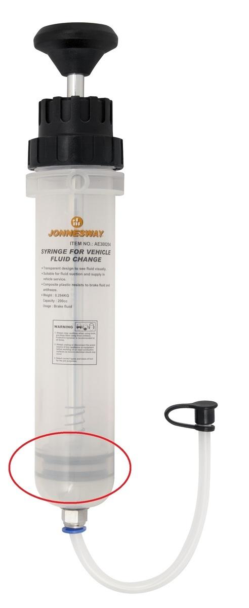 Náhradní guma k odsávací pumpičce provozních kapalin 0,2 L JONNESWAY AE300204