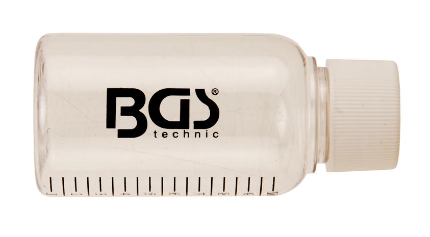 Náhradní lahvička pro testery vstřikovačů Common Rail BGS technic 8101 a 8102