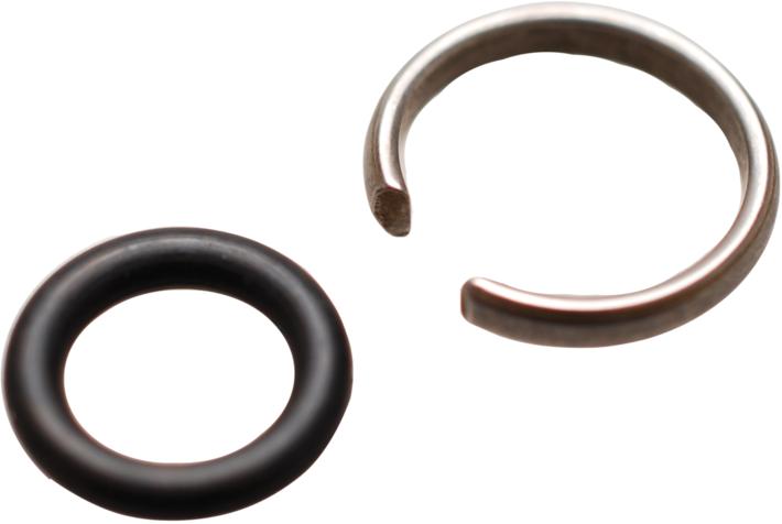"""Náhradní upínací kroužek a O-kroužek, pro rázový utahovák 1/2"""" - BGS 32899"""