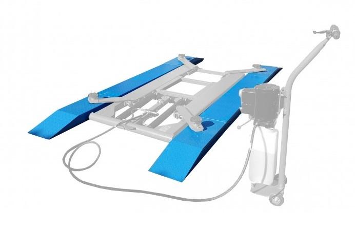 Nájezdové rampy pro nízkozdvižný zvedák 2,7 t - Golemtech