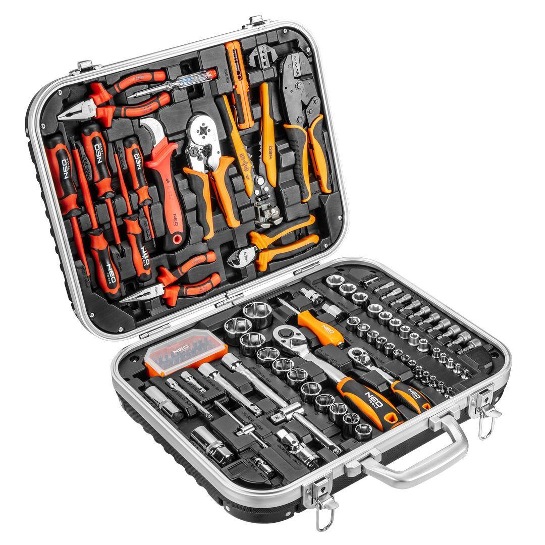 Nářadí pro elektrikáře s gola sadou, 108 kusů - NEO tools 01-310