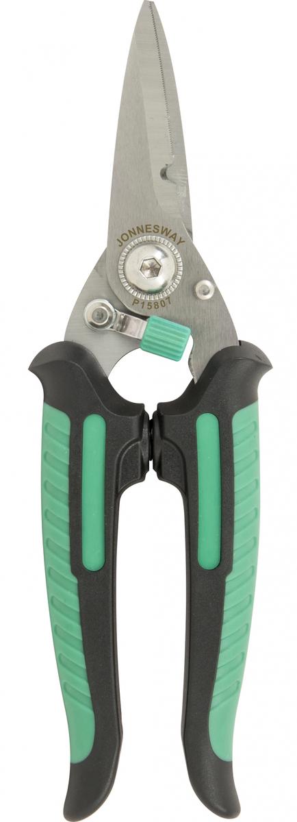 Nůžky na plech rovné 180 mm - JONNESWAY P15807