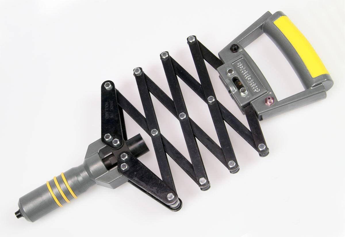Nýtovací kleště nůžkové, pro ocelové a hliníkové trhací nýty 2,4 - 6,0 mm - Beargrip 805