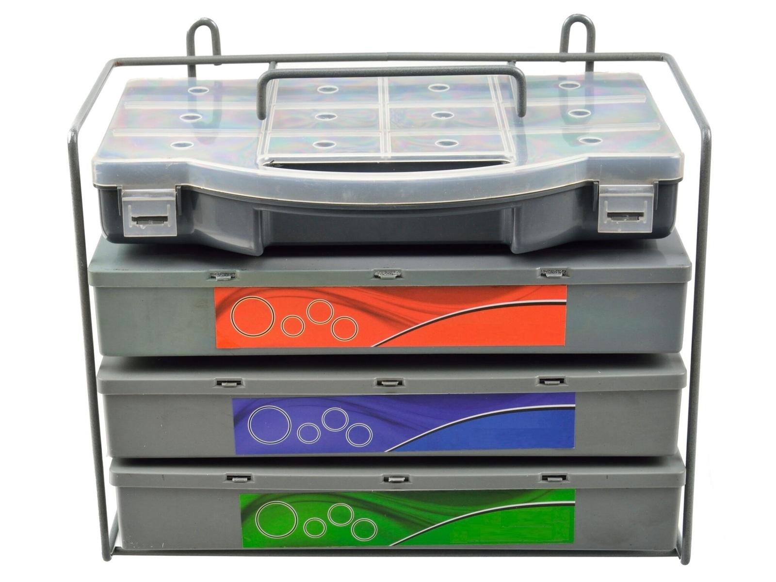 O-kroužky HNBR, SAE a metrické, sada 900 kusů v krabičkách, s pořadačem