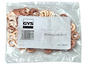 Navařovací vytahovací kroužky/prstence O 8 x 16 GYS 049444