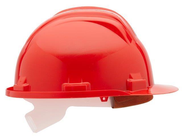 Ochranná přilba univerzální, 52 - 61 cm, červená, norma EN397