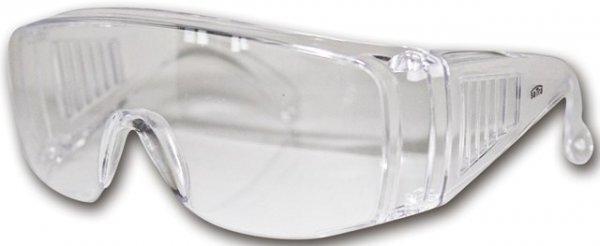 Ochranné brýle čiré, šňůrka na krk, EN 166 - SATRA