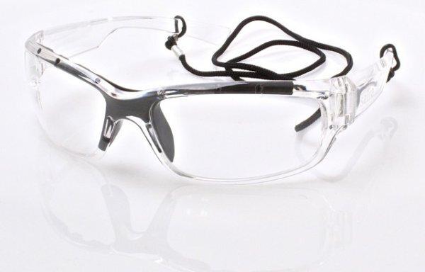 Ochranné brýle čiré, šňůrka na krk - SATRA