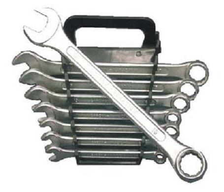 Očkoploché klíče, rozměry 6 - 19 mm, sada 8 kusů