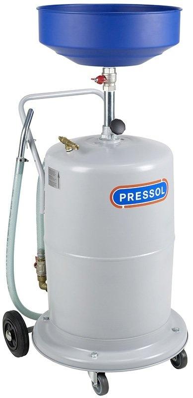 Olejová jímka pneumatická, pojízdná, objem 95 litrů - PRESSOL 27 070 890