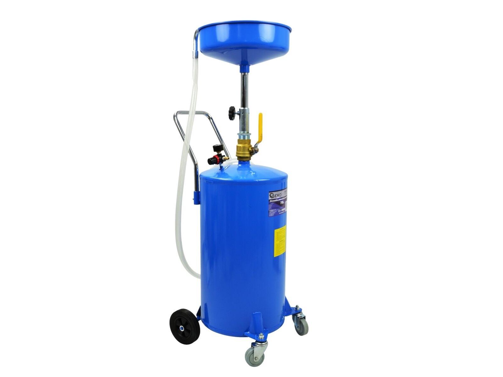 Olejová jímka pro výpust oleje 70L