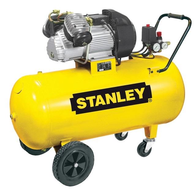 "Olejový vzduchový ""V"" kompresor dvouválcový, 100 l - STANLEY DV2 400/10/100"