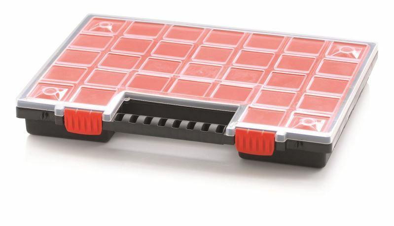 Organizér 399 x 303 x 50 mm NORP, 32 barevných přihrádek