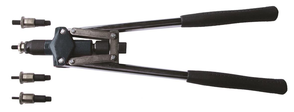 Nýtovací kleště pákové na maticové nýty M5 - M10 JONNESWAY V1104