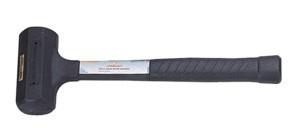 Palička gumová, bezodrazová, 1050 gramů, průměr hlavy 55 mm - JONNESWAY M11055