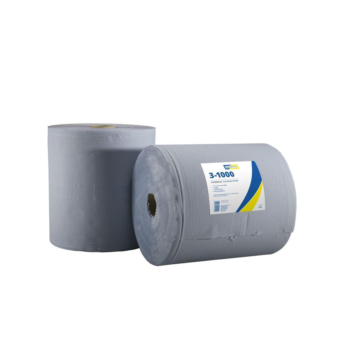 Papírové utěrky - ubrousky, role 1000 kusů, 3vrstvé - Cartechnic