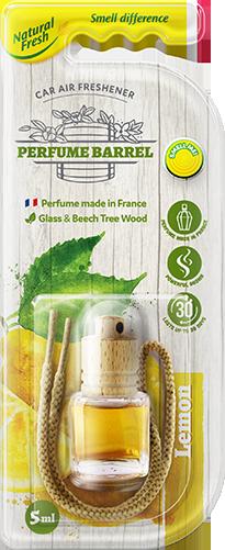 Vůně do auta Perfume Barrel Lemon 5 ml