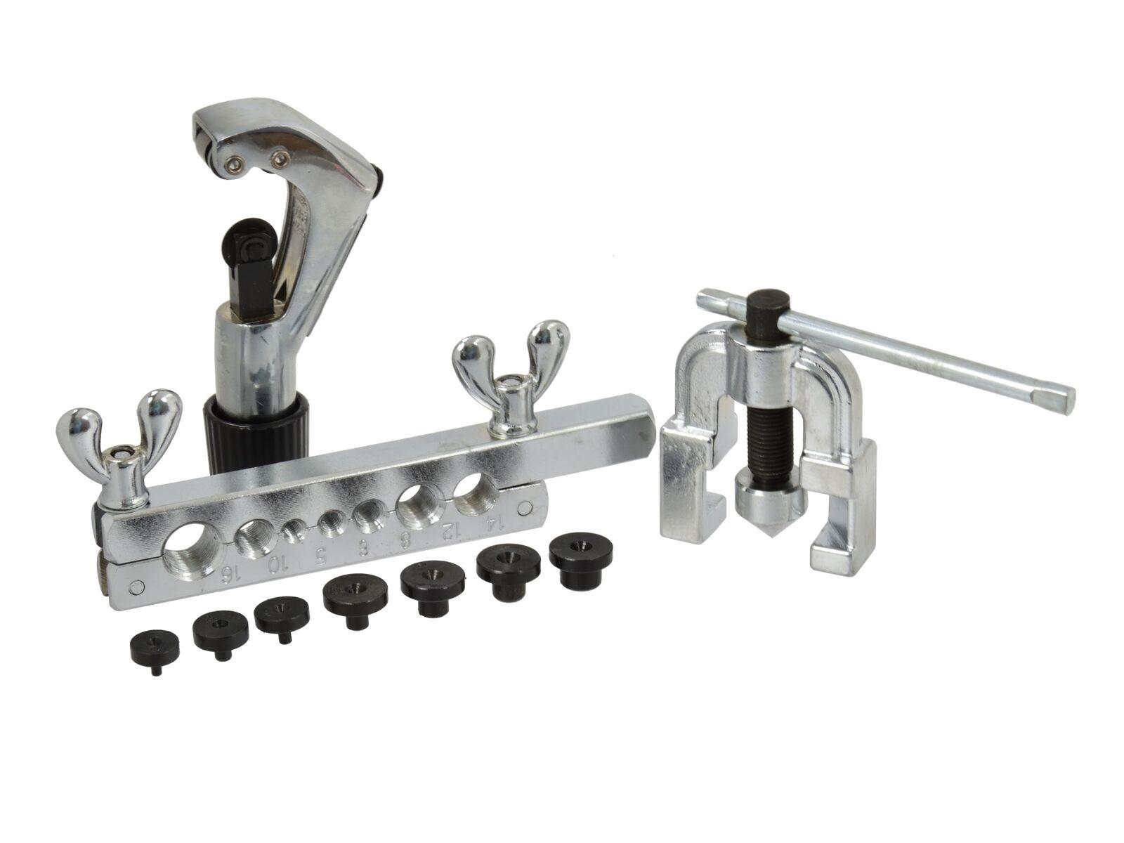 Pertlovací sada pro úpravu brzdových trubek 5 - 16 mm