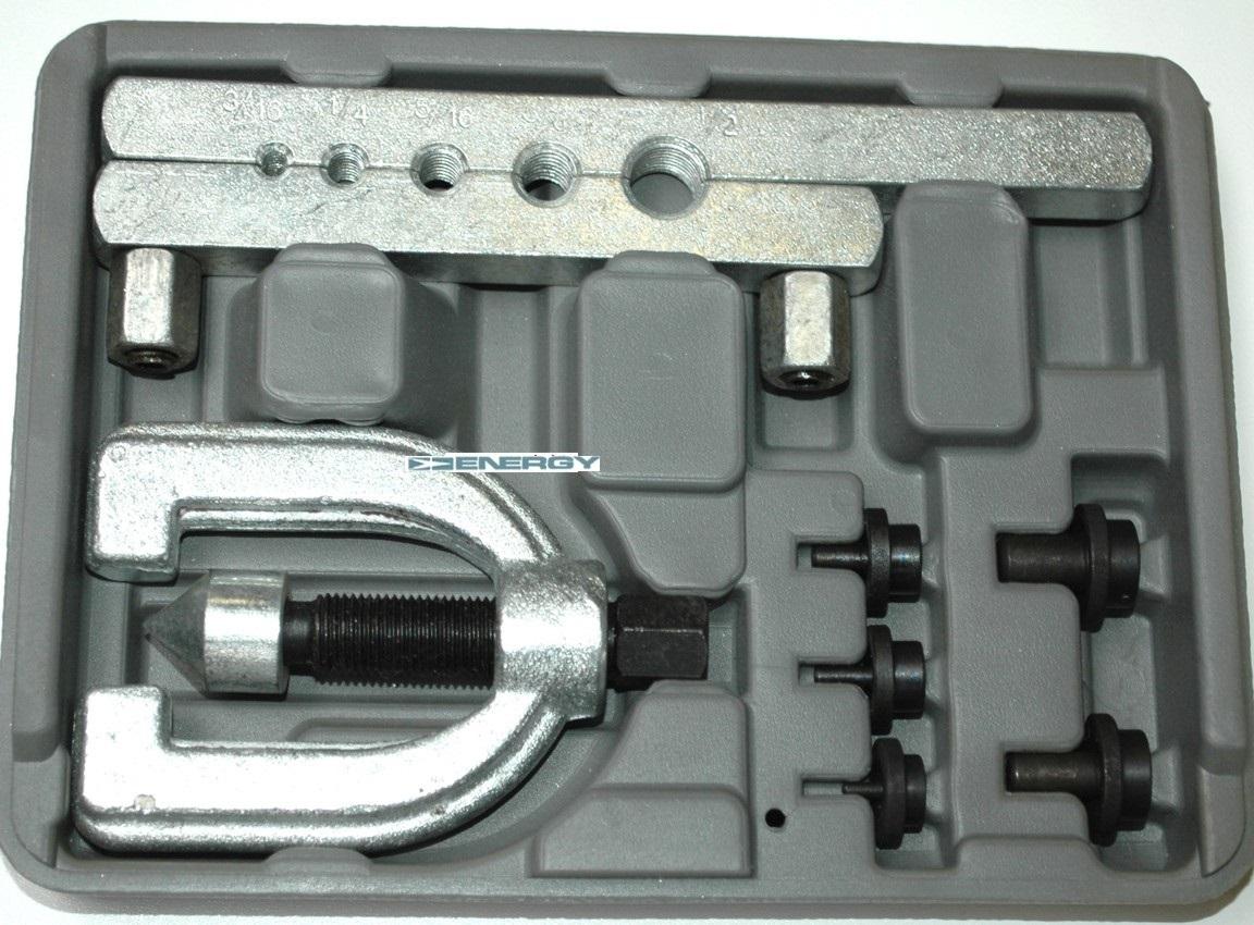 """Pertlovací sada, sada na úpravu brzdových trubek 3/16"""" (4.75mm) -1/2"""""""