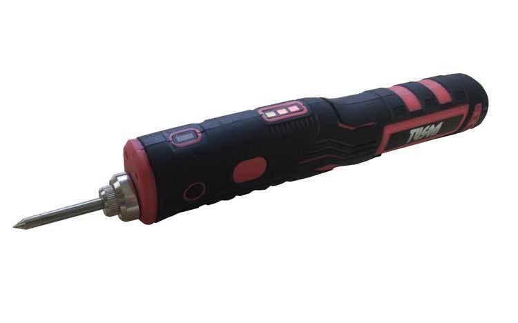 Aku páječka 8 W 1,8 Ah Li-Ion, nabíjecí USB - TUSON 130061