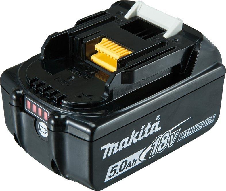 Náhradní baterie 18 V 5.0 Ah Li-Ion, pro aku nářadí - MAKITA BL1850B