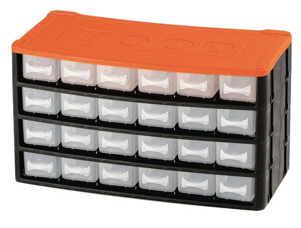 Box na nářadí 24 zásuvek, 330x160x180 mm, plast