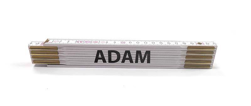 Skladací metr ADAM, 2 m
