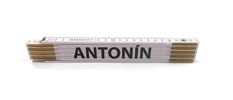 Skladací metr ANTONÍN, 2 m
