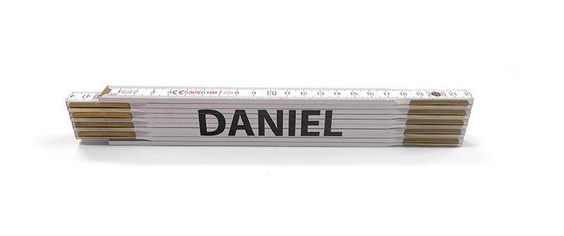Skladací metr DANIEL, 2 m