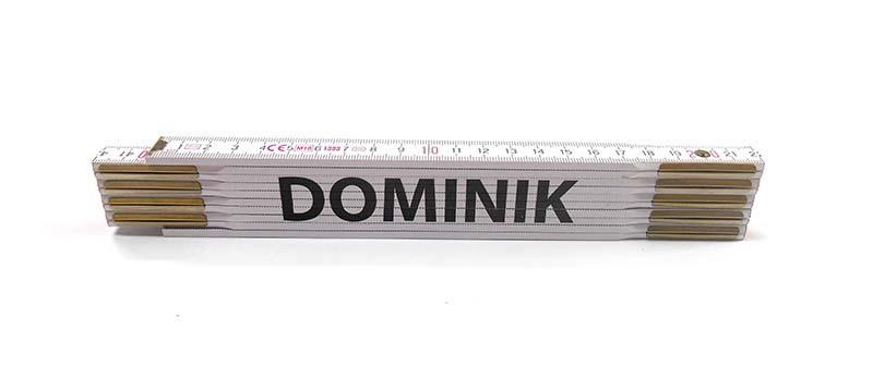 Skladací metr DOMINIK, 2 m
