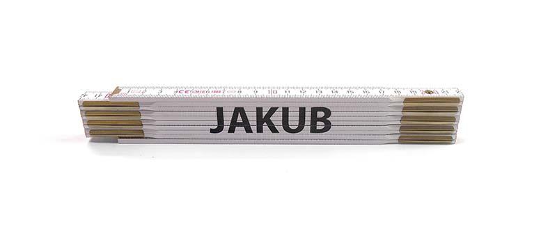 Skladací metr JAKUB, 2 m